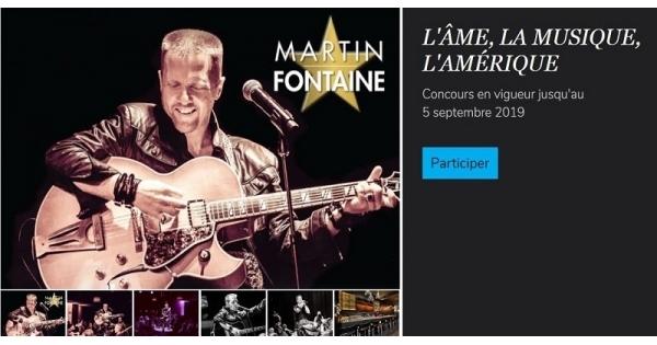 Concours Gagnez une paire de billets en formule souper-spectacle pour Martin Fontaine live au Memphis Cabaret!