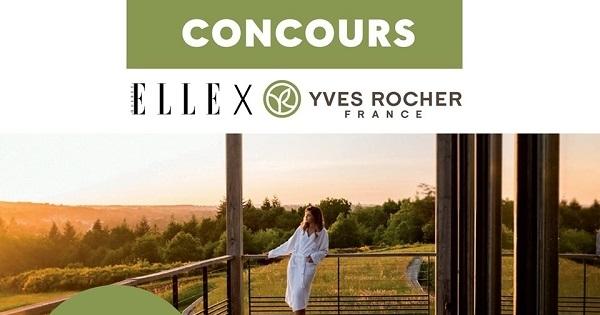 Concours Gagnez un séjour à l'Éco-Hôtel Spa Yves Rocher La Grée des Landes en France!