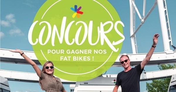 Concours Gagnez DEUX super vélos La Grande Roue de Montréal d'une valeur de 900$!