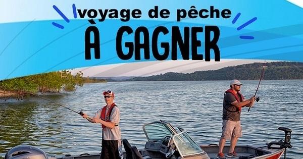Concours Gagnez un voyage de pêche à la Pourvoirie Rivière La Galette au chalet Chassomaniak!