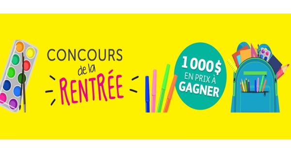 Concours DE LA RENTRÉE AVEC BAYARD!