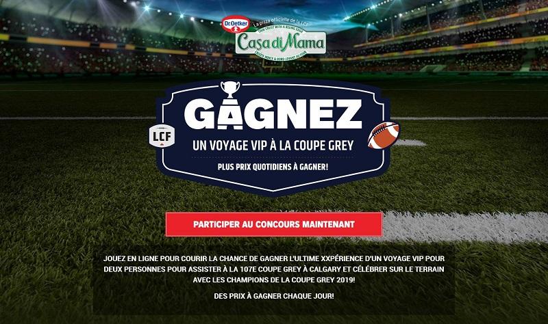 Concours GAGNEZ L'ULTIME EXPÉRIENCE D'UN VOYAGE VIP À LA 107E COUPE GREY À CALGARY!