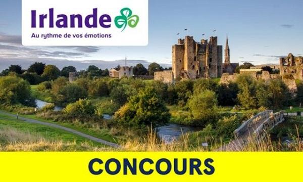 Concours Gagnez un voyage en Irlande!