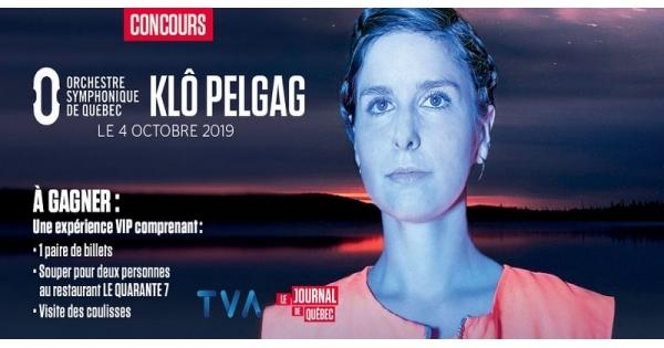 Concours Vivez l'expérience unique Klô Pelgag!