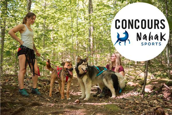 Concours Gagnez un forfait canin à l'Auberge du Lac Taureau ainsi que 300$ en valeur d'équipement Nahak Sports!