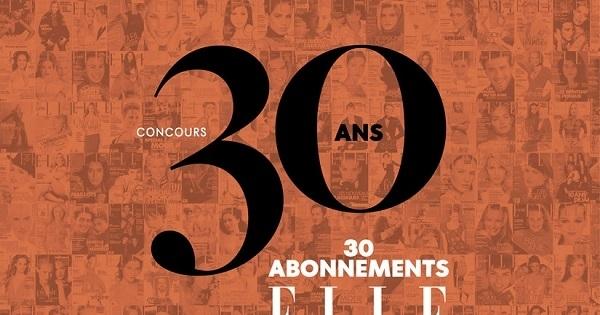 Concours Gagnez un abonnement d'un an à la version papier du magazine ELLE Québec!