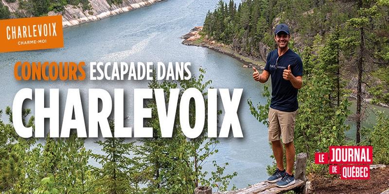 Concours Gagnez une escapade dans Charlevoix!