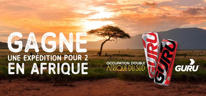 Concours Gagnez une expédition pour 2 personnes en Afrique!