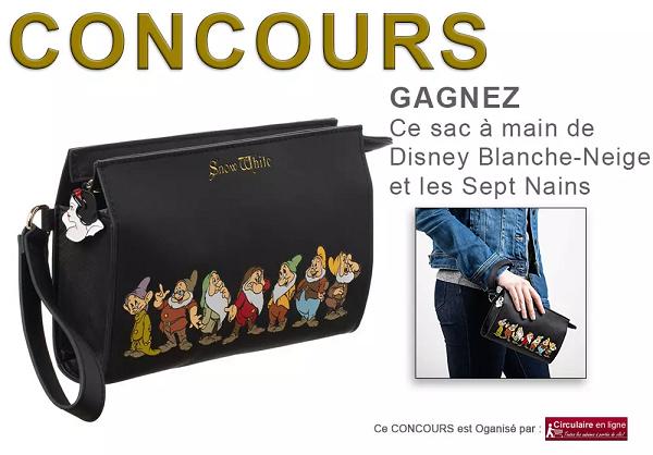 Concours Gagnez un sac à Main Disney Blanche-Neige et les Sept Nains!