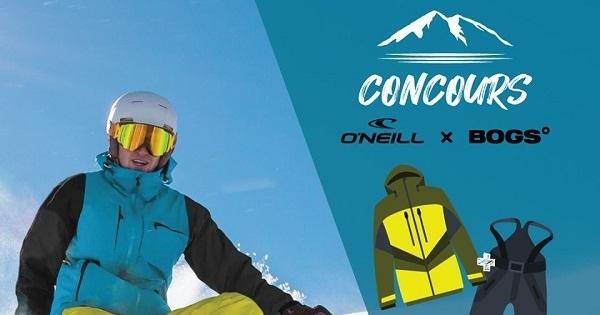 Concours Gagnez une paire de bottes d'hiver BOGS, un habit de neige O'NEILL et une carte-cadeau CLÉMENT de 75$!