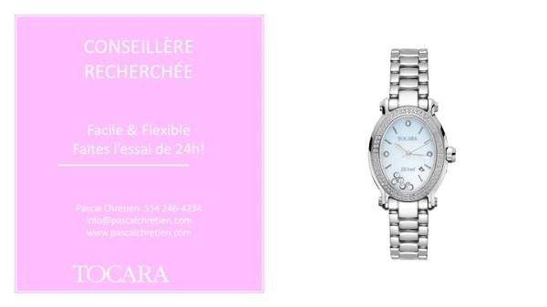 Concours Gagnez la montre Gemma, de TOCARA, d'une valeur de 329$!