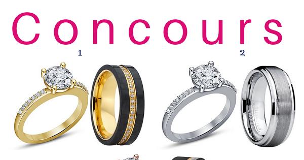 Concours Gagnez un ensemble de bagues offerts par Bijoux Escargot!