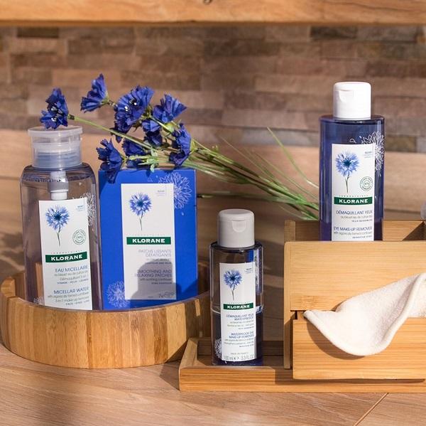 Concours Gagnez un ensemble cadeau de produits de la gamme au Bleuet 100% BIO de Klorane!