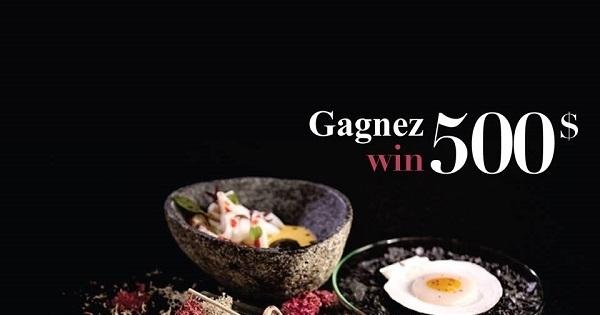 Concours Gagnez une expérience culinaire pour 2 personnes au très réputé restaurant Europea à Montréal!