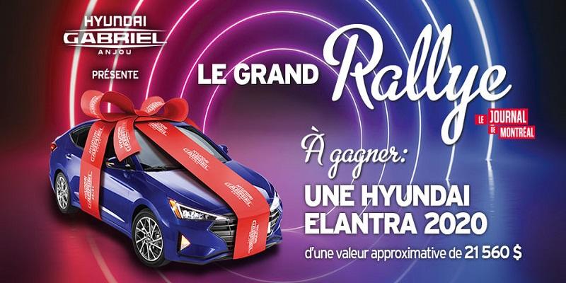Concours Gagnez une Hyundai Elantra 2020!