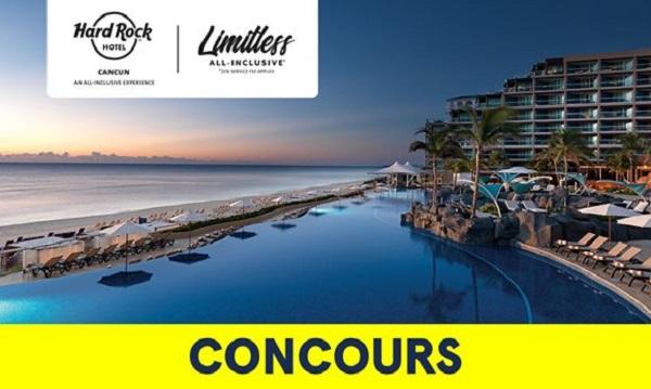 Concours Gagnez un voyage à Cancun, au Mexique!