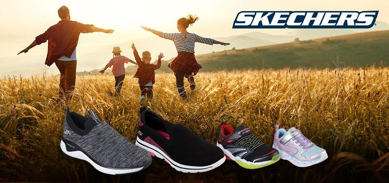 Concours Un cadeau de Skechers pour toute la famille!