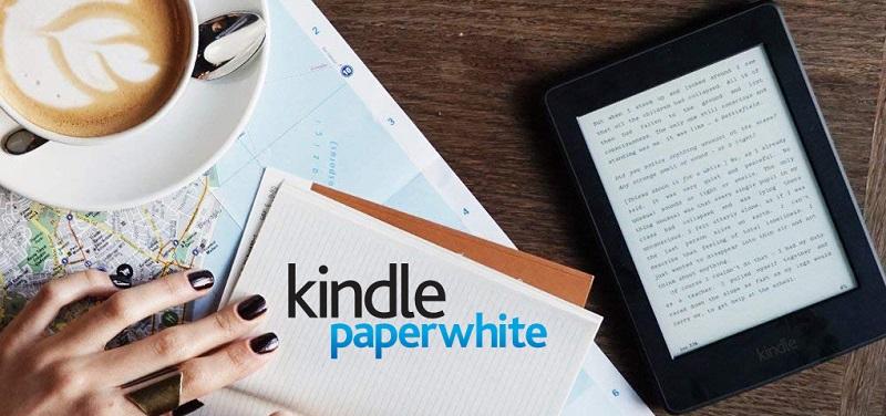 Concours Gagnez une liseuse Kindle Paperwhite pour lire n'importe où et n'importe quand!