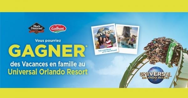 Concours Gagnez des vacances en famille au Universal Orlando Resort!
