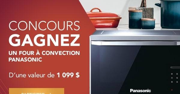 Concours Gagnez un four à induction haut de gamme de Panasonic!