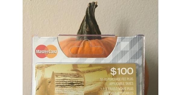 Concours Gagnez une carte-cadeau MASTERCARD de 100$!