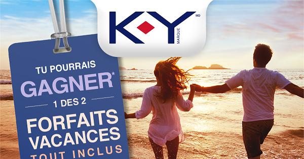 Concours Gagnez un des 2 forfaits vacances tout inclus pour deux!