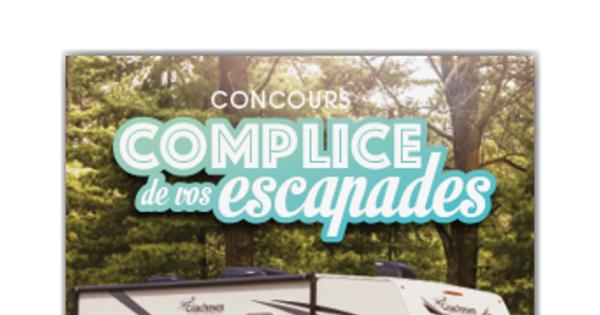 Concours Gagnez un véhicule récréatif d'une valeur approximative de 100000$!