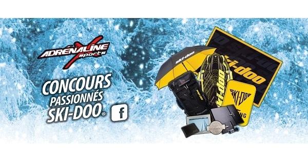 Concours Gagnez un paquet cadeau d'articles Ski-Doo d'une valeur de 650$!