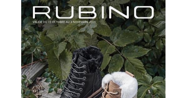 Concours Gagnez une carte-cadeau RUBINO de 100$!