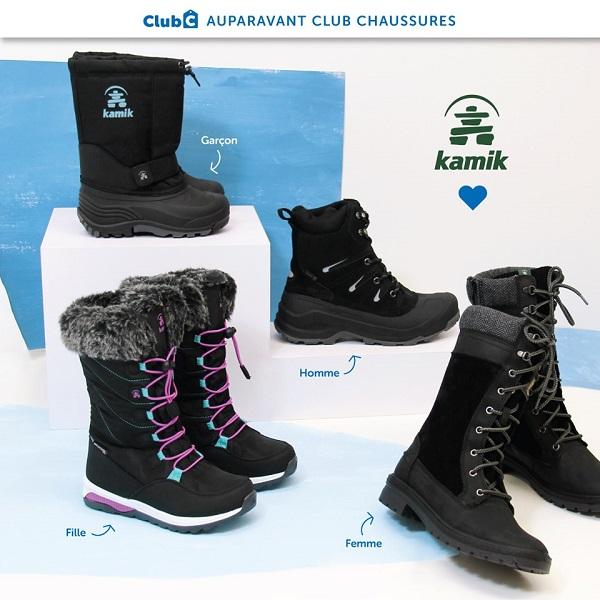 Concours Gagnez des bottes Kamik pour toute votre famille!