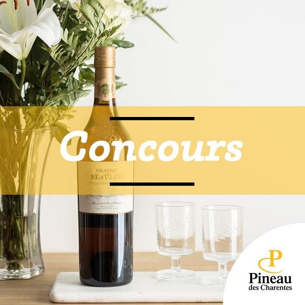 Concours Gagnez une bouteille de Château Beaulon Vieille Réserve - Or de Pineau des Charentes!
