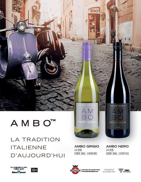 Concours Gagnez 2 bouteilles de vin AMBO offerte par VINEO!