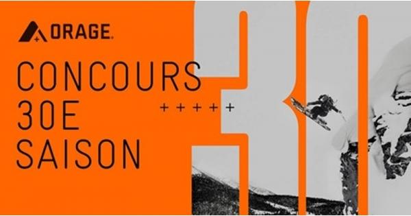 Concours Gagnez un trip tout inclus pour deux personnes au Happening SkiChocs à l'Auberge de montage des Chic-Chocs + 2 kits Orage!
