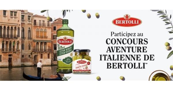 Concours Gagnez un voyage en Italie d'une valeur de 4 000$!