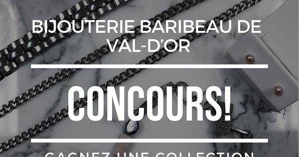 Concours Gagnez une collection de bijoux d'une valeur de 300$!