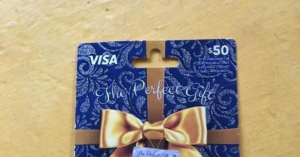 Concours Gagnez une carte cadeau Visa de 50$!
