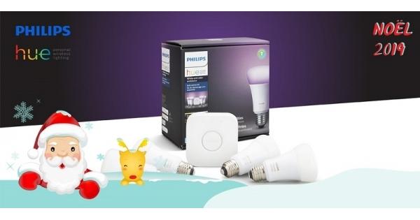 Concours Gagnez un ensemble de démarrage d'ampoules intelligentes Philips Hue!