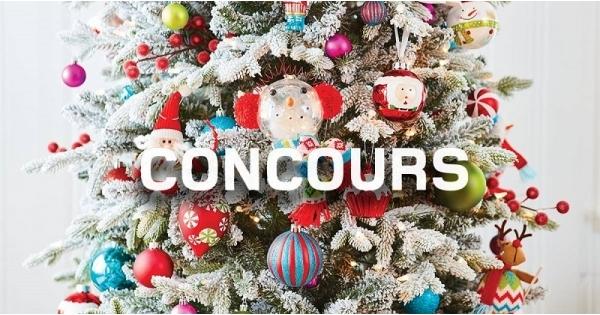 Concours Gagnez une boîte de décorations de Noël offerte par RONA!