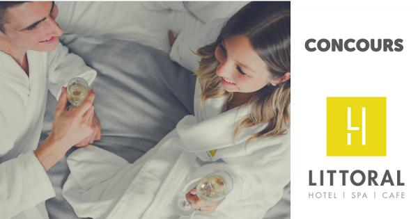 Concours Gagnez une carte cadeau d'une valeur de 250$ à Littoral - Hôtel & Spa!