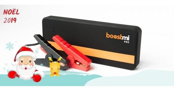 Concours Gagnez un Boostmi Pro pour survolter votre voiture et recharger votre téléphone!