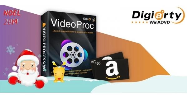 Concours Gagnez un logiciel pour traiter toutes vos vidéos en plus d'une carte cadeau Amazon de 50$!