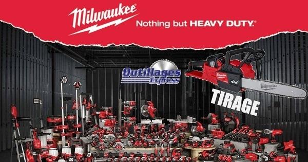 Concours Gagnez une Scie à Chaine Milwaukee M18!