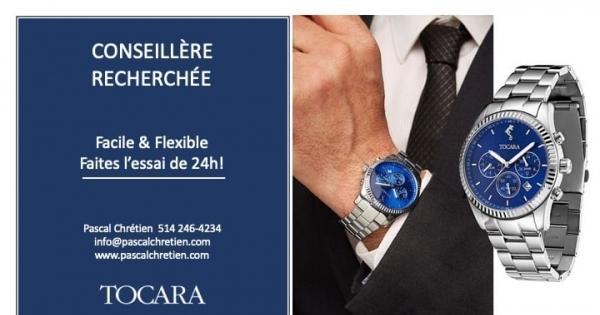 Concours Gagnez la montre Pascal, de TOCARA, d'une valeur de 359$!