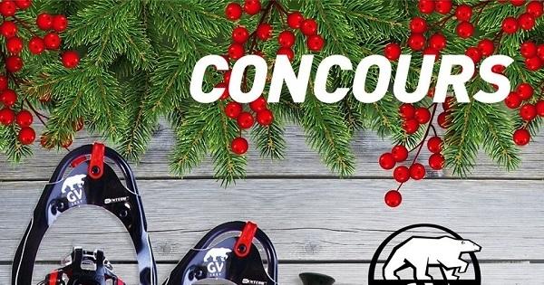 Concours Gagnez deux paires de raquettes à neige GV avec sacs et bâtons!