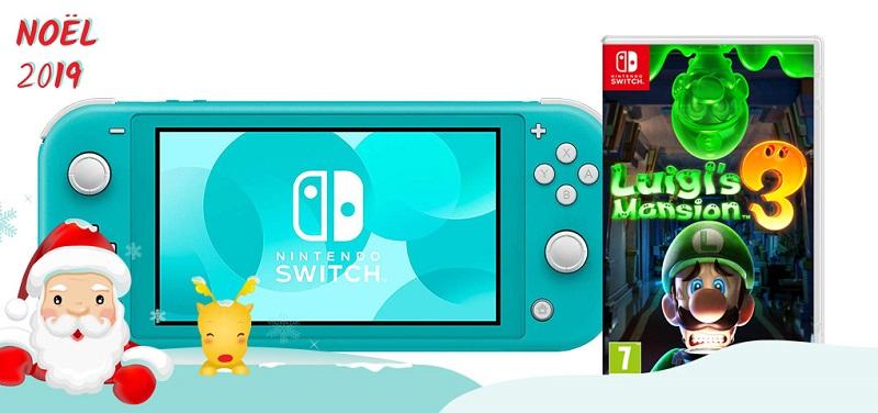 Concours Courez la chance de gagner une console Nintendo Switch Lite et le jeu Luigi's Mansion 3!