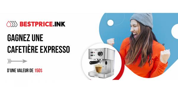 Concours Gagnez une cafetière expresso!