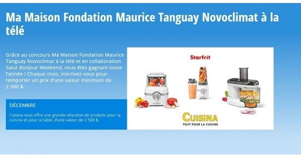 Concours Gagnez une grande sélection de produits pour la cuisine et pour la table, d'une valeur de 2 500$!