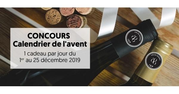 Concours Calendrier de l'avent des Vins du Québec!