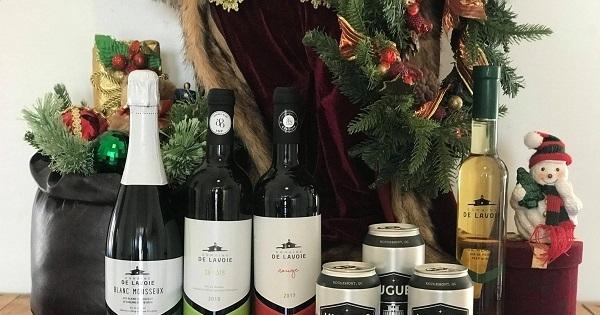 Concours Gagnez un panier-cadeau d'une valeur de $78 offert par De Lavoie - Vignoble et cidrerie!