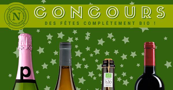 Concours Gagnez un quatuor de vins bios qui sera parfait pour vos soupers des fêtes!